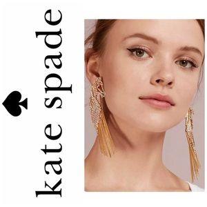 Kate Spade Crystal Horse Statement Earrings